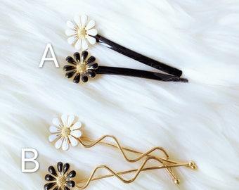 flower girl hair clip,girl women hair clip,white flower girl hair accessory,women flower barrette, women hair clip,girl young women gift