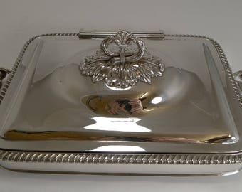 English Old Sheffield Plate Entree / Chafing / Warming Dish c.1830