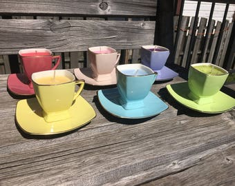 Tiny Tea Cups: Multiple Scent Options