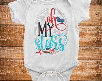 Oh My Stars Infant Bodysuit