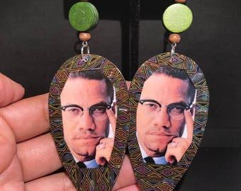 Malcolm X Earrings!