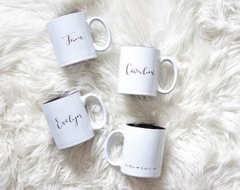 Custom Mug / Gift / Wedding / Bridesmaid Gift / Drinkware