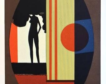 André Minaux (1923-1986) Original lithograph