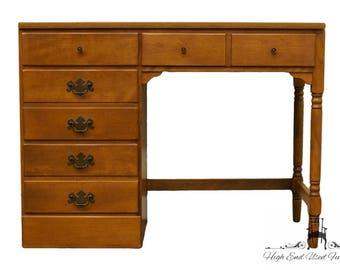 """ETHAN ALLEN Heirloom Nutmeg Maple CRP 40"""" Student Desk 10-4550P"""