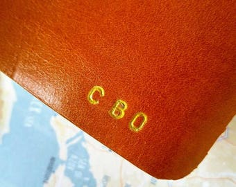 New! Your initials engraved on the leather - customize your fauxdori!