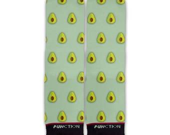 Function - Avocado Pattern Fashion Socks