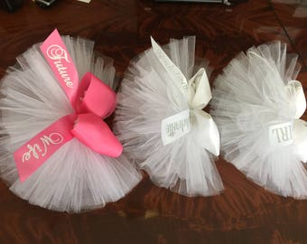 Bachelorette Veil, Butt Veil, Bridal Booty Veil, Booty Cover Available in Colors & PERSONALIZED by CYA Bikini Veils