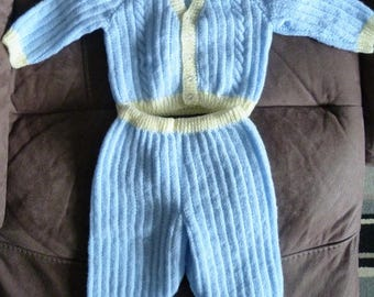 Baby boys knitted set Pat 13