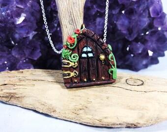 Fairy realm door pendant