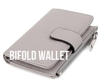 CUSTOMIZABLE Hand painted RFID protection bifold wallet