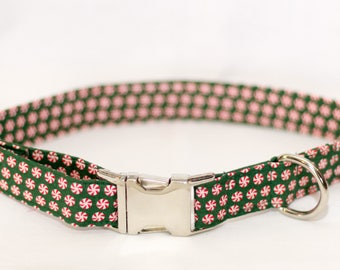 Peppermint Fabric Collar