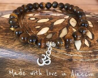 Bracelet Tiger eye beads