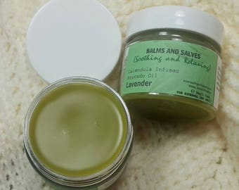 Balms and Salves - Soothing and Relaxing Lavender