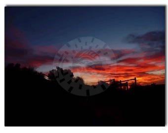 Sunset Print - Desert Wall Art