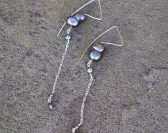 Peacock Pearl Eye Drop & Dangle Earring (Limited Edition)