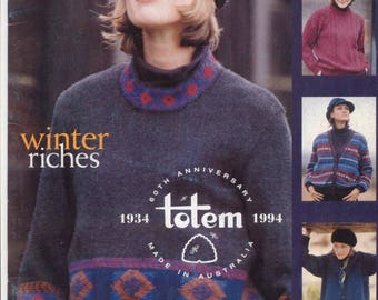 Patons 1156 Vintage Knitting Pattern Booklet