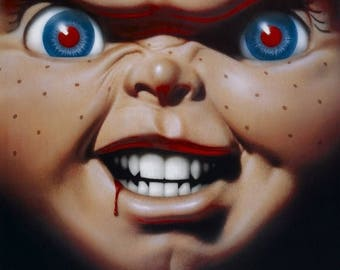 Summer Sale CHILDS PLAY 3 Movie Poster Chucky Jason Freddy