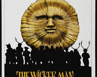 Back to School Sale: The WICKER MAN Movie POSTER Horror Thriller Classic