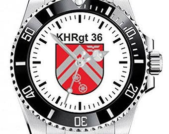Combat Helicopter Regiment 36 Khreg 36 Bundeswehr Kurhessen Clock 1142