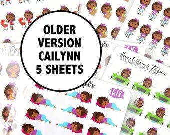 Planner Sticker Grab Bag | Cailynn Sticker Grab Bag | Planner Stickers | Fits Most Planners | Mystery Planner Stickers | Grab Bag