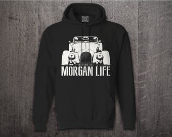 MORGAN Hoodie, Cars hoodies, Morgan sweater, Graphic hoodies, funny hoodies, Cars t shirts, Morgan t shirt, British cars sweater, Classic