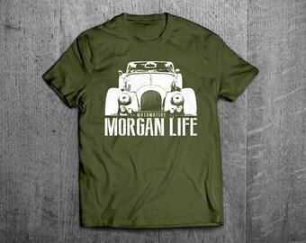 Morgan life shirts, Morgan t shirts, British cars t shirts, british racing shirts, mini cars shirts cars tshirts men t shirts women t shirts