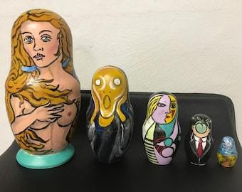 Fine Art Nesting Dolls