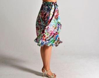 SALE** COCO flower bouquet flow skirt - sizes XS/S/M