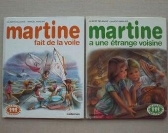 Book vintage Martine / french vintage children's book / antique MARTINE collection book / Album for children