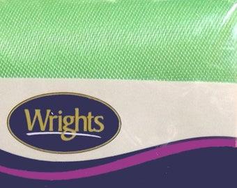 Wrights Satin Blanket Binding NIP 4.75 yards Leaf Green PC794