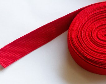 Strong webbing, cotton/polyester 32mm