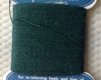 Bucilla nylon heel n toe yarn for reinforcing darning mending