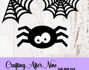 Halloween Svg Bundle, Halloween SVG, Spider Svg, Spooky Svg, Webs, Commercial Svg,Silhouette Studio, Digital Cut File