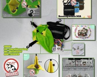 Sugar Glider Cage Set Mouse Hamster Squirrel PREMIUM Green Banana by SGA (+Many Bonus)