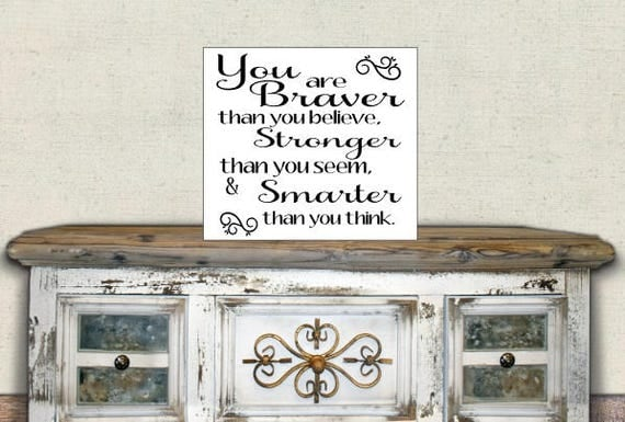 Items similar to custom wood sign inspirational quote for Best selling home decor etsy