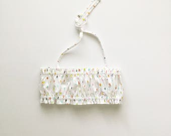 Sprinkled Crop Top for babies and toddler girls