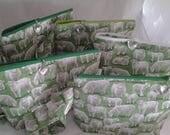 Sheep bag, Project bag, Travel bag, Craft bag, Fiber bag