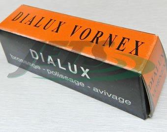 Tripoli Dialux Vornex Orange Pre-Polish Tripoli Cutting Compound For Metals (5E)
