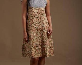 Farah Yoke Dress