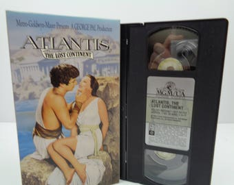 Atlantis the lost continent VHS Tape