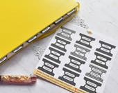 Bullet Journal Monthly Tab Stickers 11M