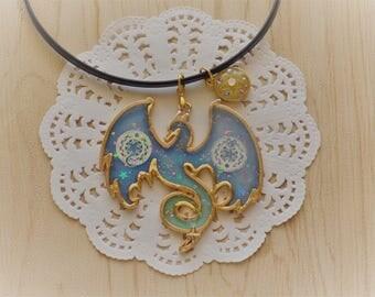 Alchemic Dragon Choker Necklace
