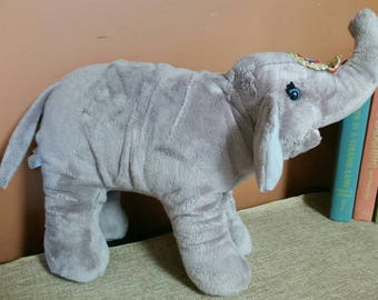 Ringling Brothers Circus Plush Elephant/The Greatest Show on Earth Circus Souvenir/Plush Elephant/Nursery/Baby Shower Decor/Collectible