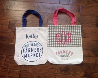 Personalized/Customized Canvas Tote Bag