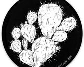 "Cactus- 3"" x 3"" -  Weatherproof and durable, Outdoor, Travel sticker, prickly pear, cacti , desert, Wanderlust, Mountain and adventure-"