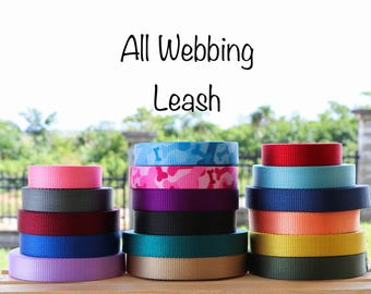 All Webbing Leash
