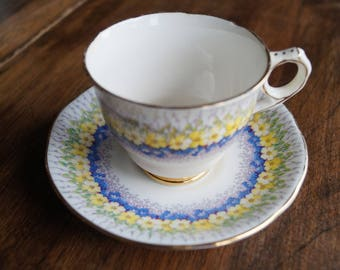 "Royal Stafford ""Glendale"", Vintage Teacup and Saucer"