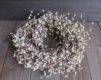 Wedding 100 Feet Bulk Lot Cream Ivory Wispy Pip Berry Garland Primitive Country Rustic Pip Berries Home Decor