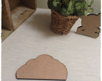 Pretty little cloud blank height 6 cm thickness 6mm