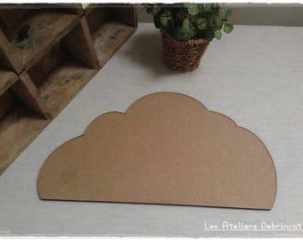 Pretty cloud blank tall 16.2 cm thickness 6 mm